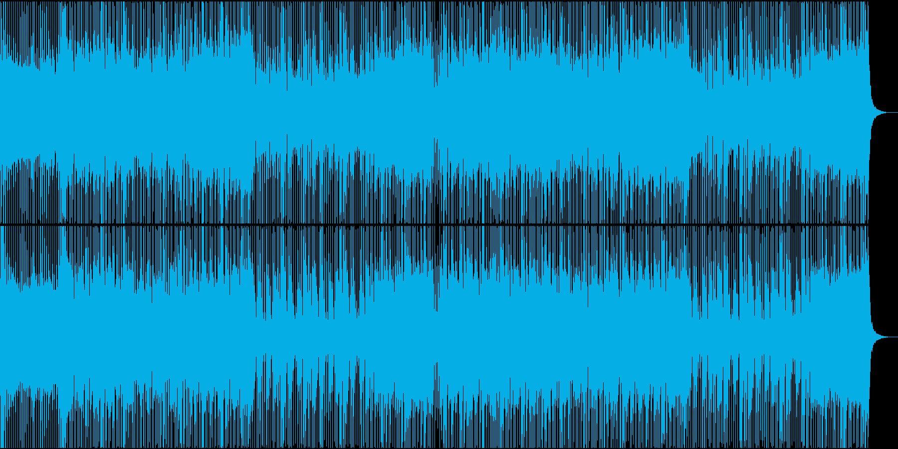 ロック/激しい/重い/バンド/派手の再生済みの波形
