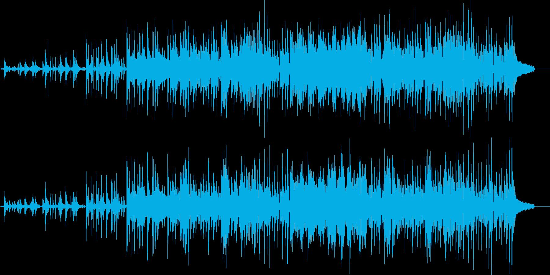 絶望的で嘆かわしいピアノ演奏の再生済みの波形