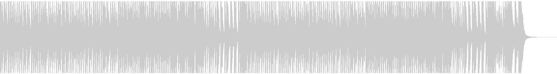 CMやシンキングタイムに コミカルBGMの未再生の波形