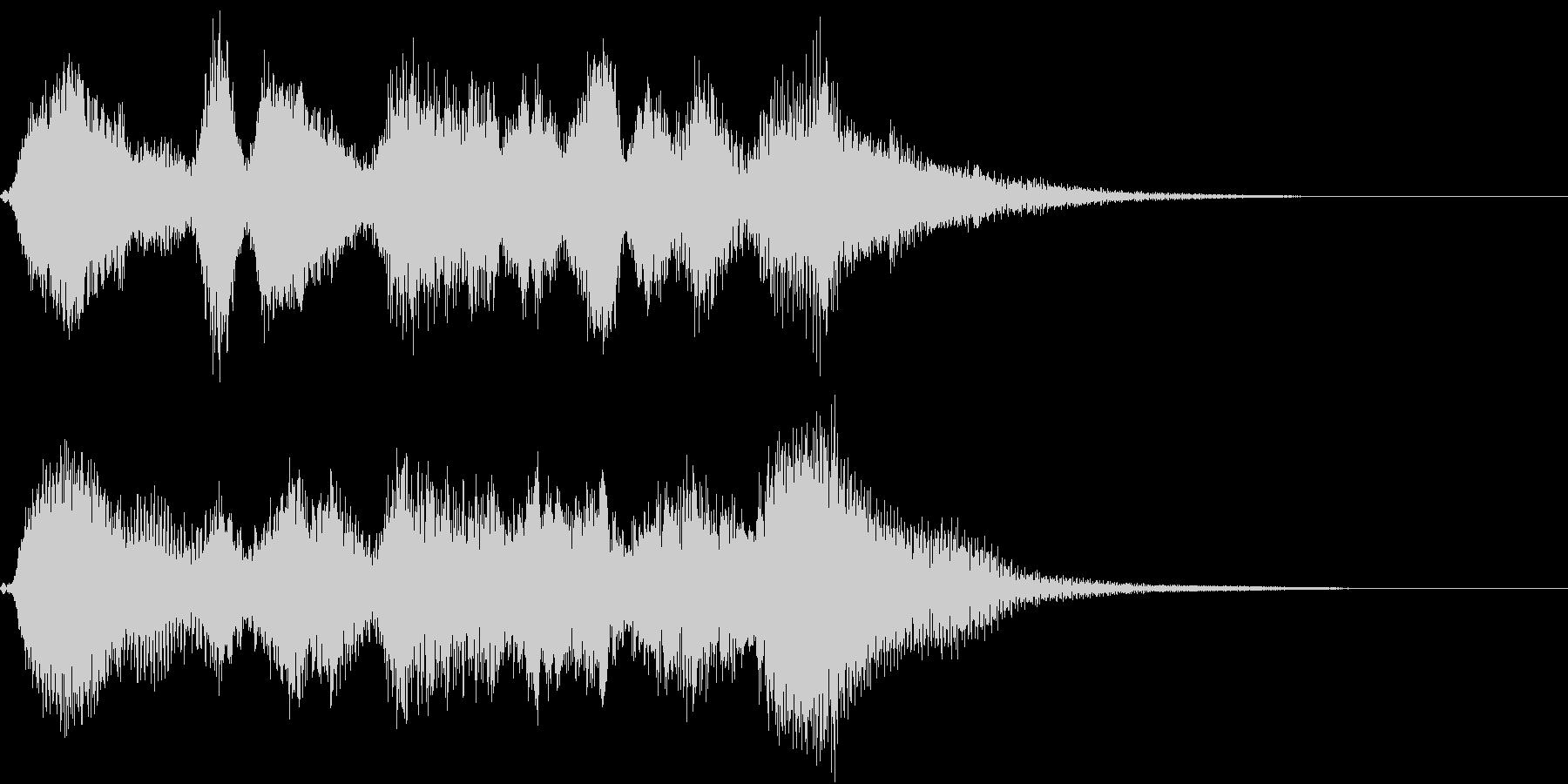 生演奏:バロック調の弦楽四重奏の未再生の波形