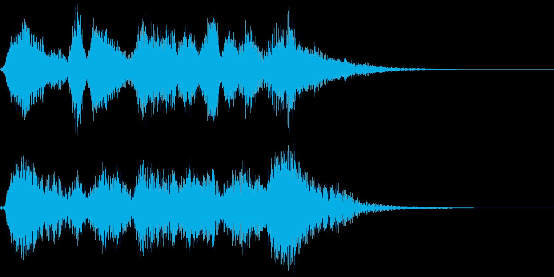 生演奏:バロック調の弦楽四重奏の再生済みの波形