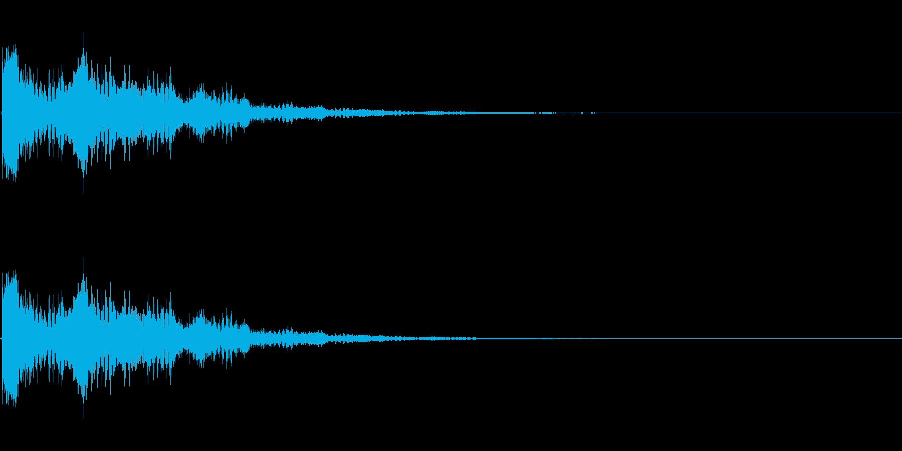 SF系ワンショット(シューシューシュー)の再生済みの波形