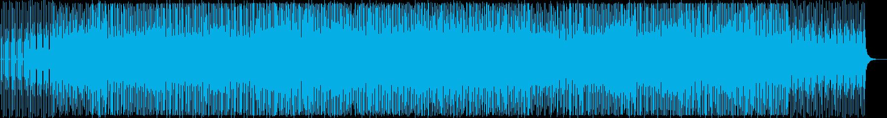 クールでリズミカルなテクノポップの再生済みの波形