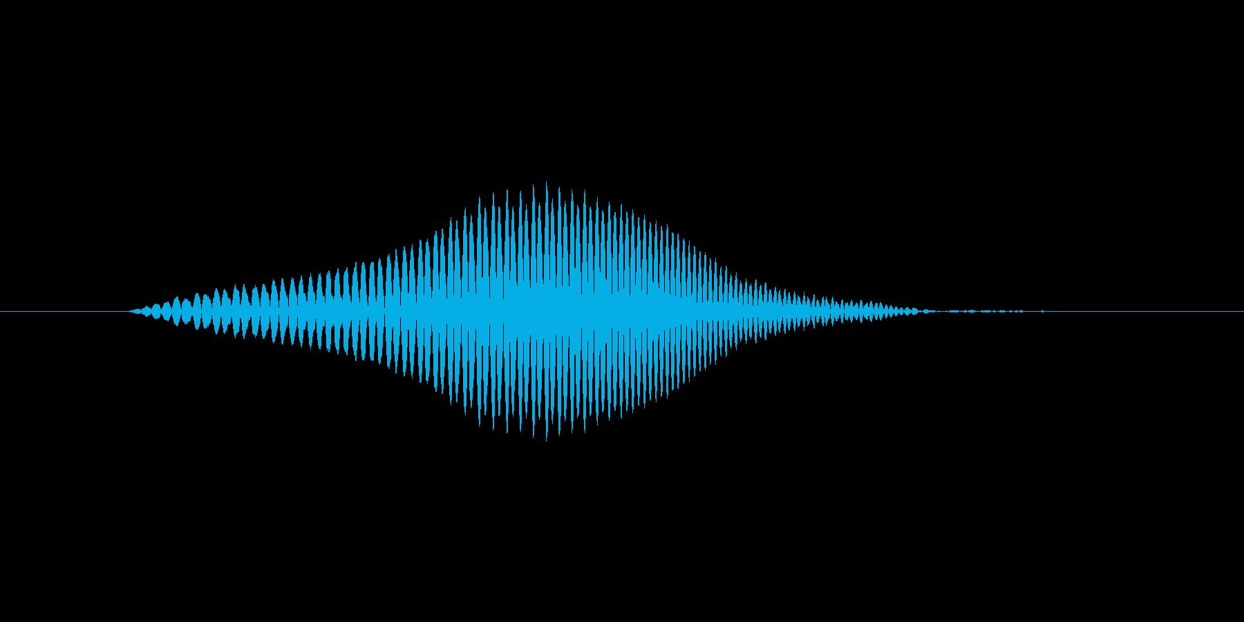 ふっ!(Type-C)の再生済みの波形