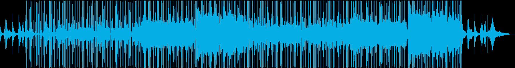 渋い雰囲気のブルースジャズの再生済みの波形