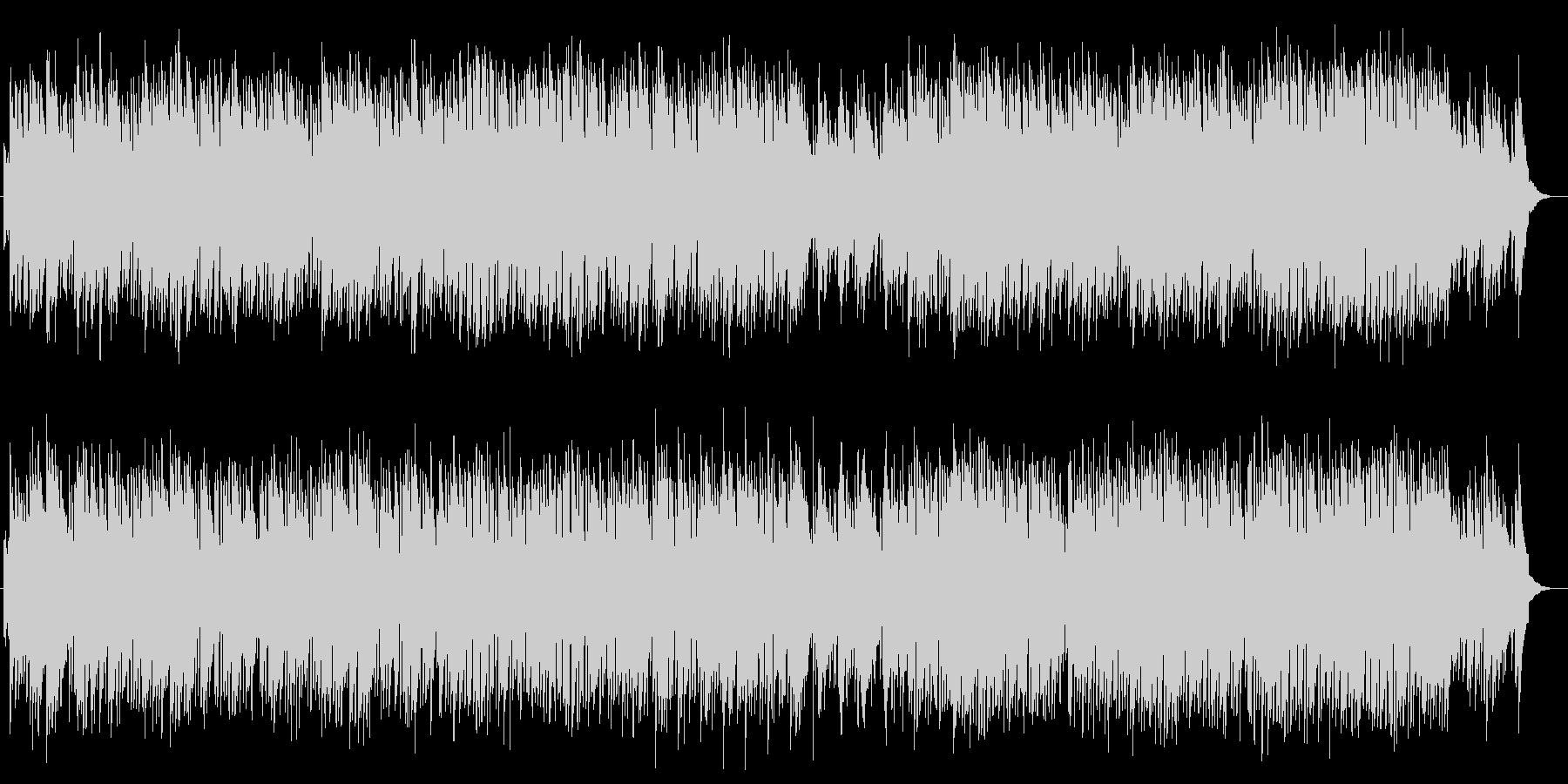 ピアノの美しいナチュラルで落ち着く曲の未再生の波形