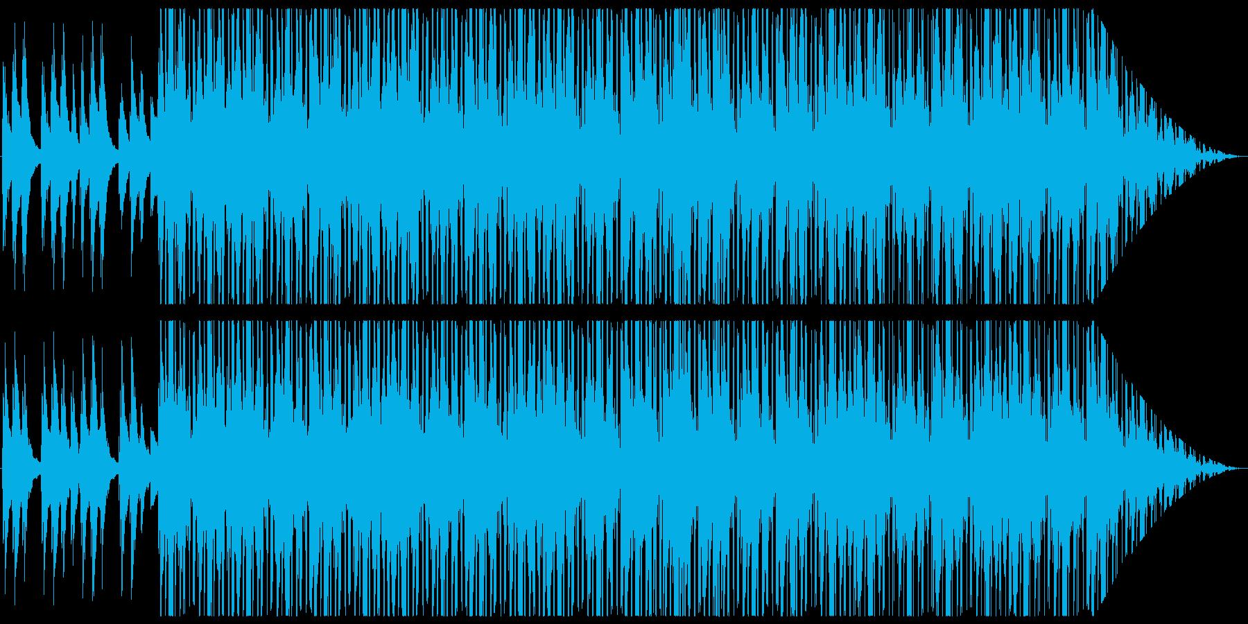 和の雰囲気を持ったヒップホップの再生済みの波形