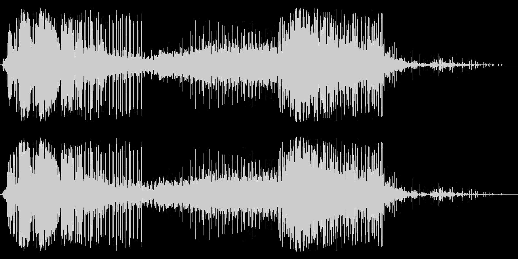ビリビリ!電気 電磁波 パルス 火花 1の未再生の波形
