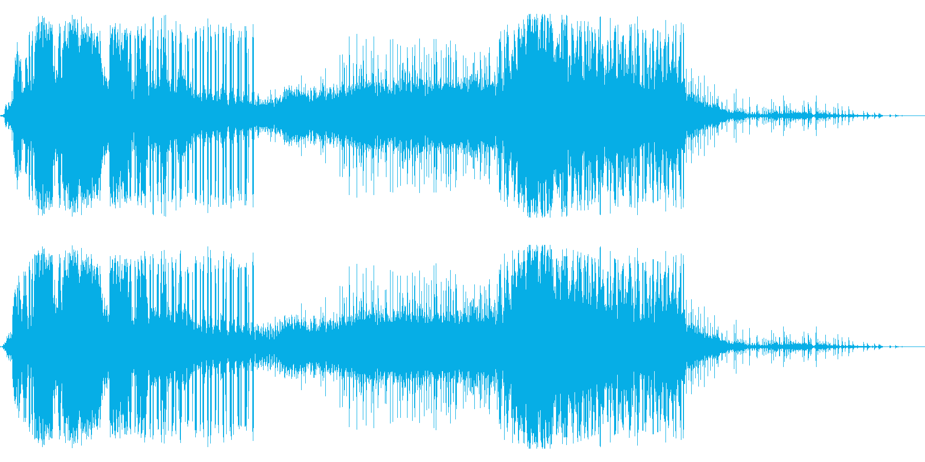 ビリビリ!電気 電磁波 パルス 火花 1の再生済みの波形