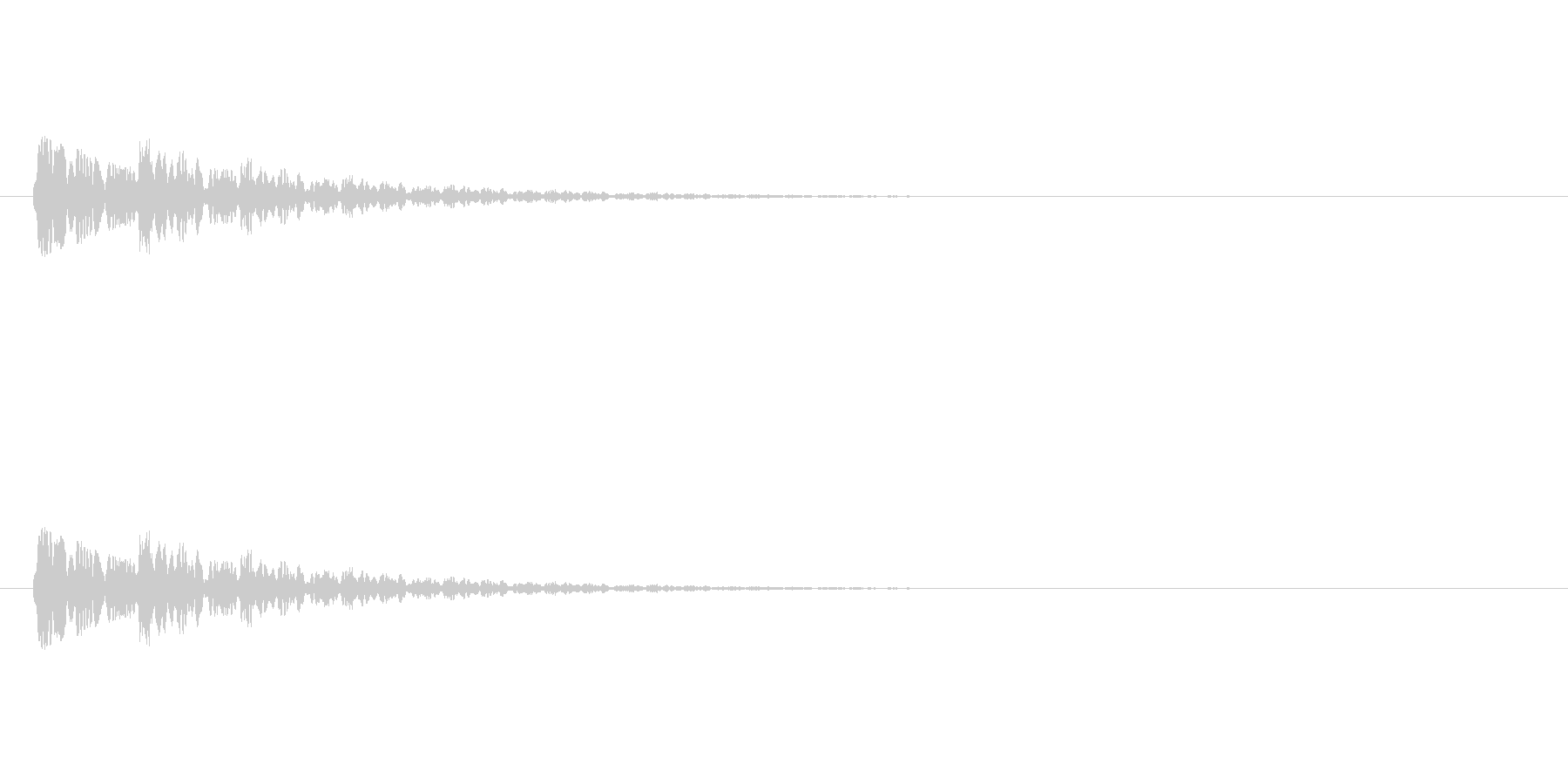 【ネガティブ07-8】の未再生の波形