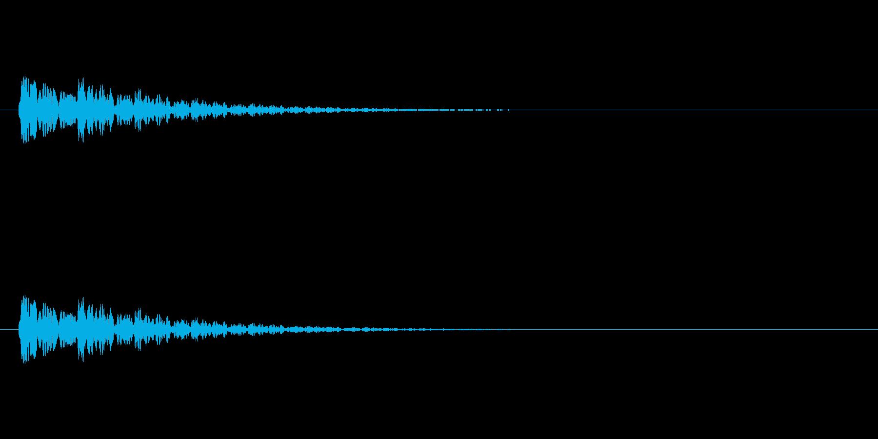 【ネガティブ07-8】の再生済みの波形