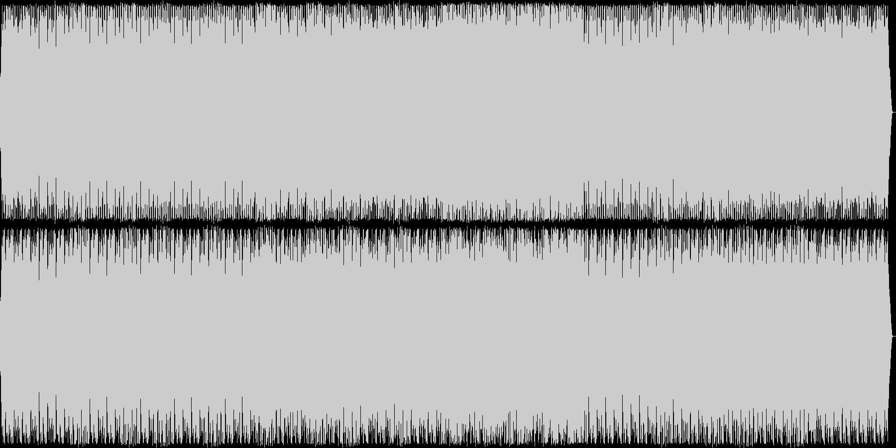 安らぎ感のあるシンセサイザーサウンドの未再生の波形
