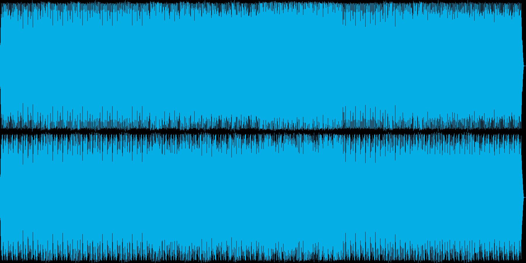 安らぎ感のあるシンセサイザーサウンドの再生済みの波形
