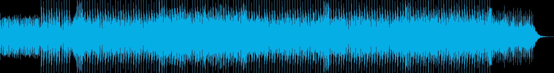 ほのぼのする感じのカッコイイEDMの再生済みの波形