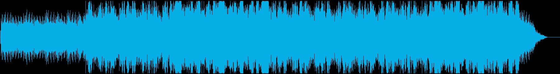 RPGの幻想的な雰囲気のある楽曲の再生済みの波形