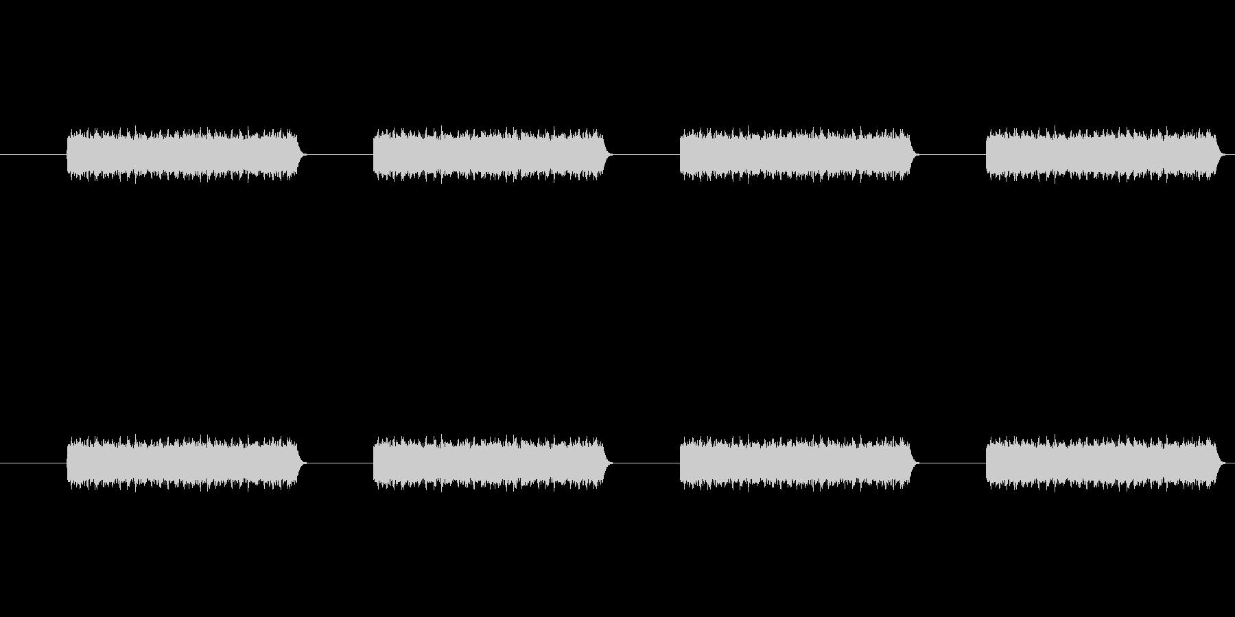 電話のコール音の未再生の波形