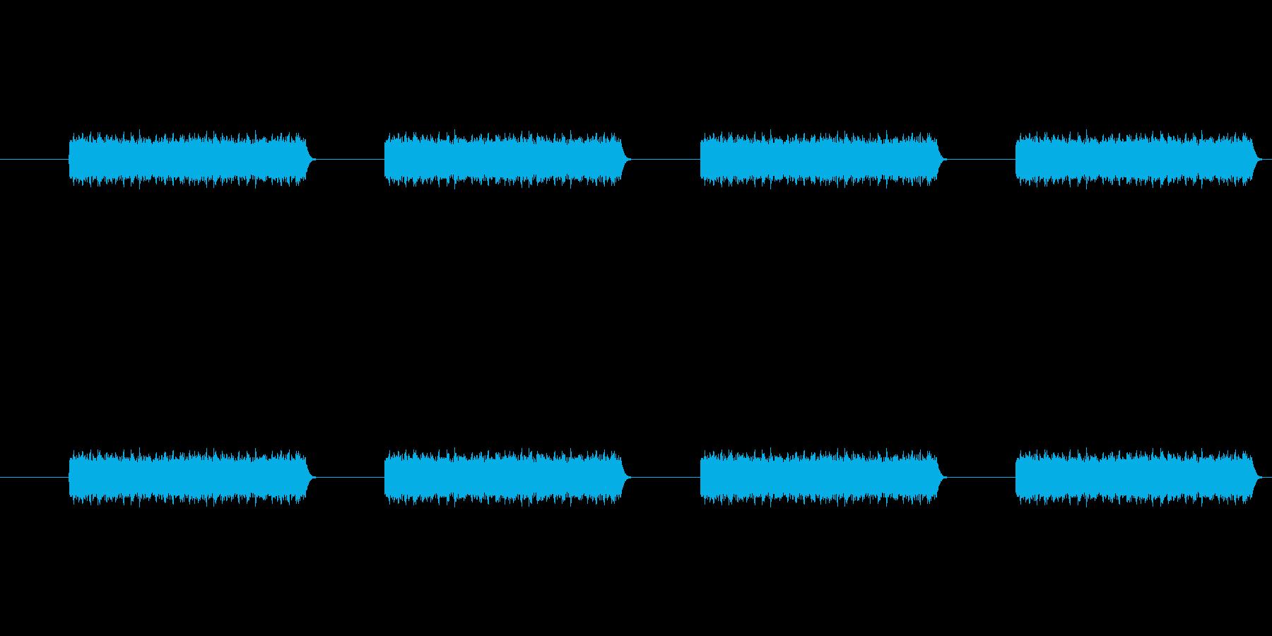 電話のコール音の再生済みの波形
