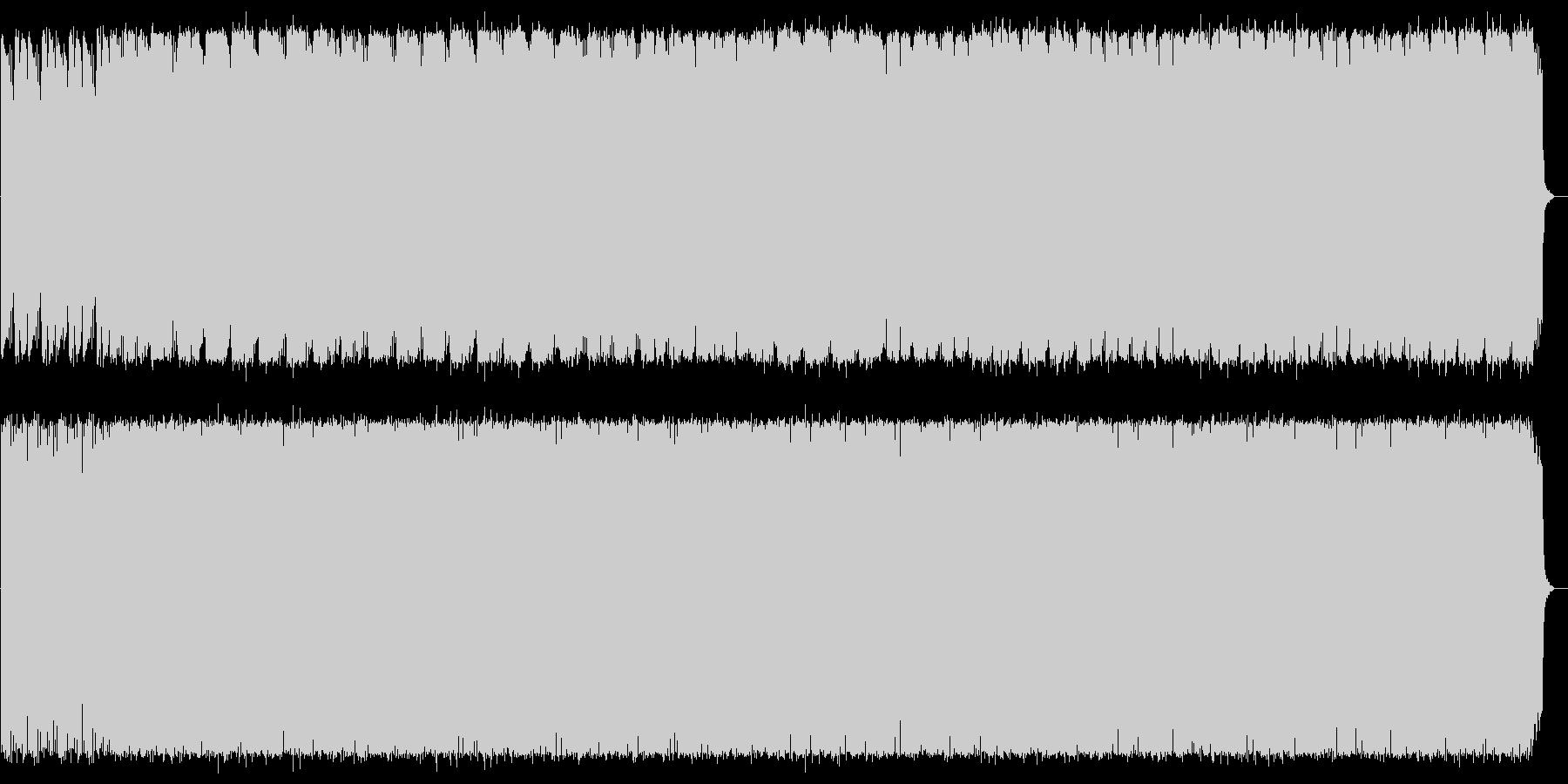 神秘的で煌びやかなスピリチュアルサウンドの未再生の波形