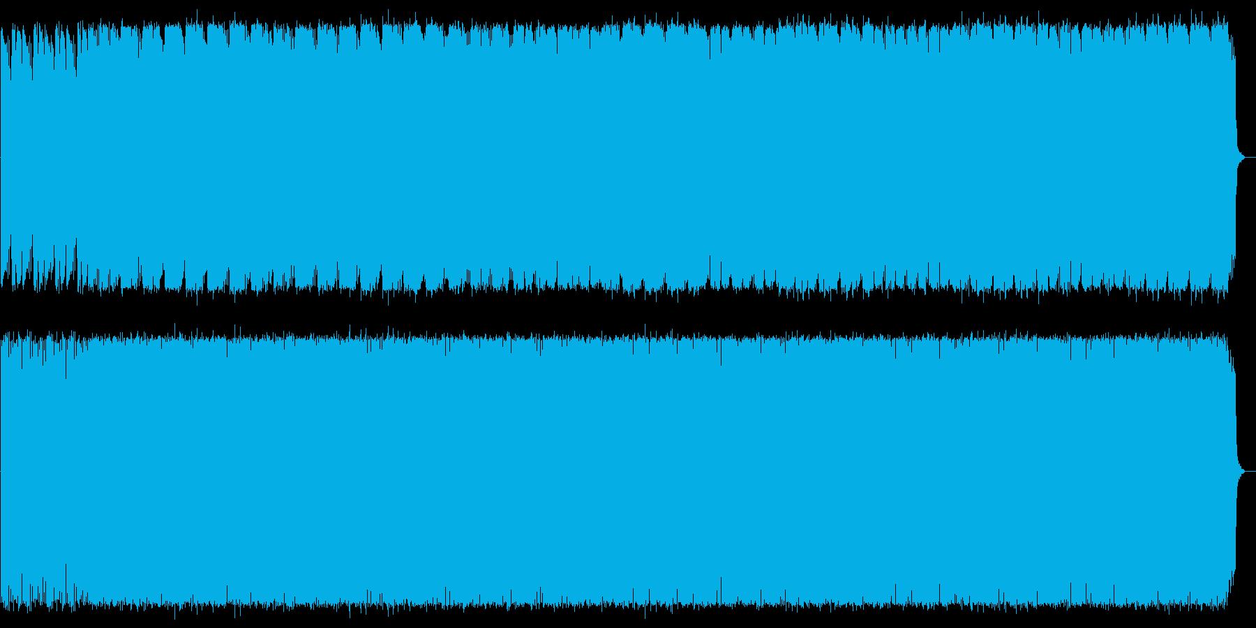 神秘的で煌びやかなスピリチュアルサウンドの再生済みの波形