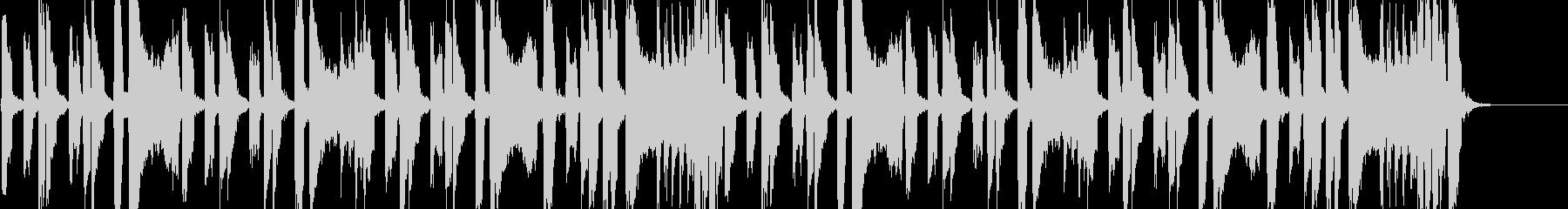怪しげでコミカルな雰囲気 アニメ調BGMの未再生の波形