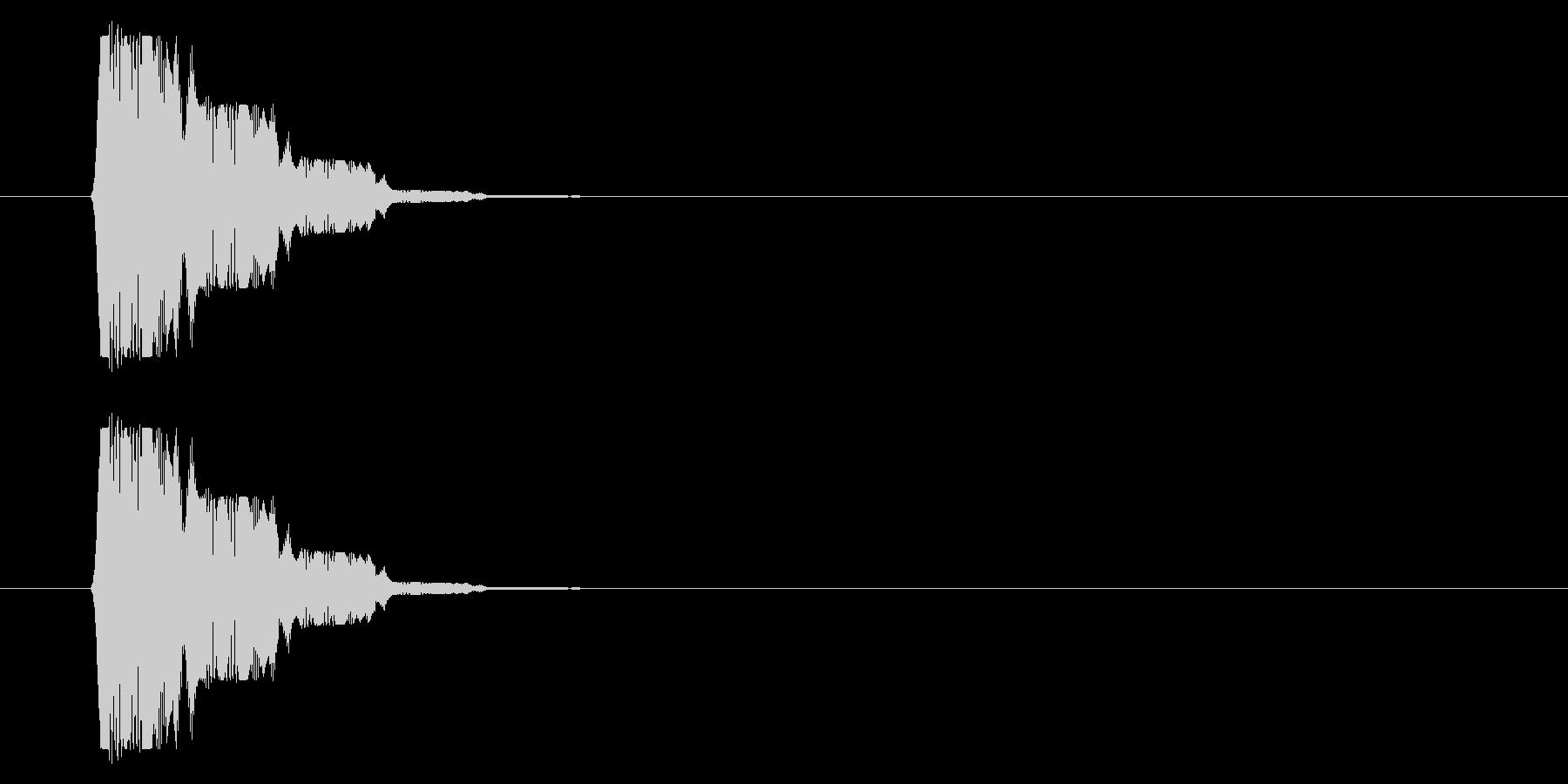 SNES 格闘06-14(選択)の未再生の波形