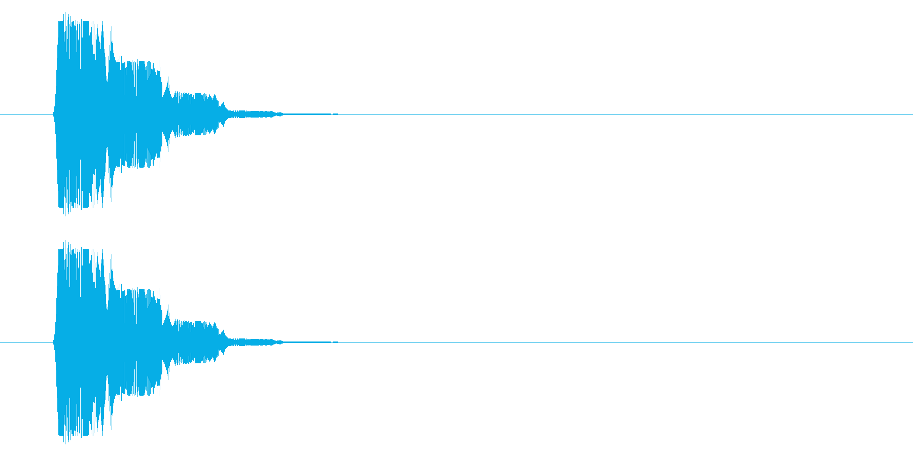 SNES 格闘06-14(選択)の再生済みの波形