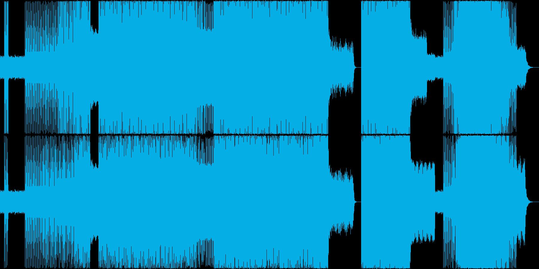ノリがいいBGMの再生済みの波形