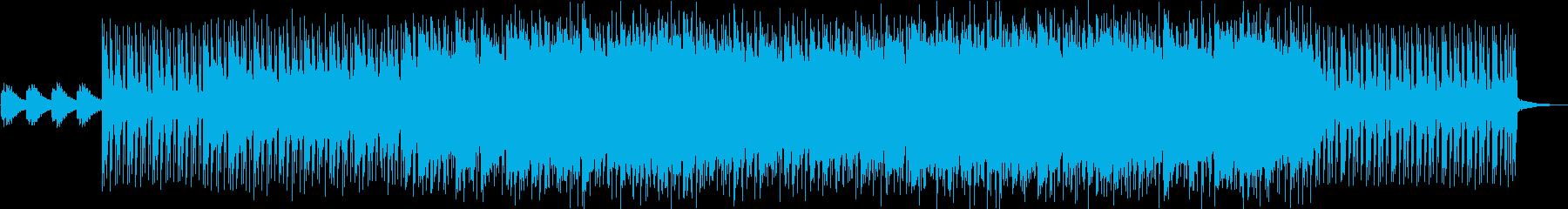 怪しい雰囲気のエレクトロニカの再生済みの波形