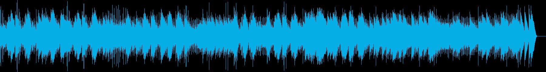 ショパン 革命のエチュード(オルゴール)の再生済みの波形