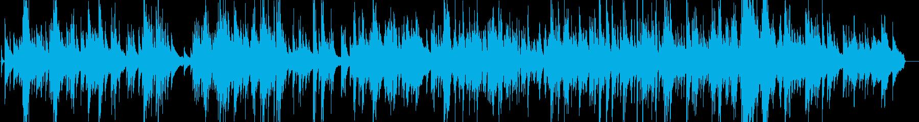大人のジャズバラードの再生済みの波形
