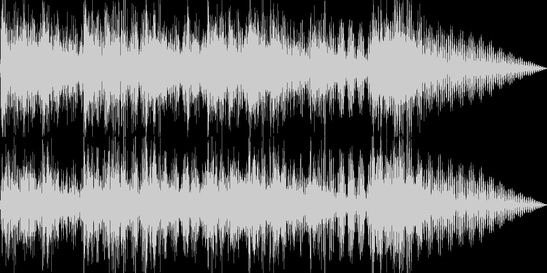 和楽器を使ったジングルの未再生の波形