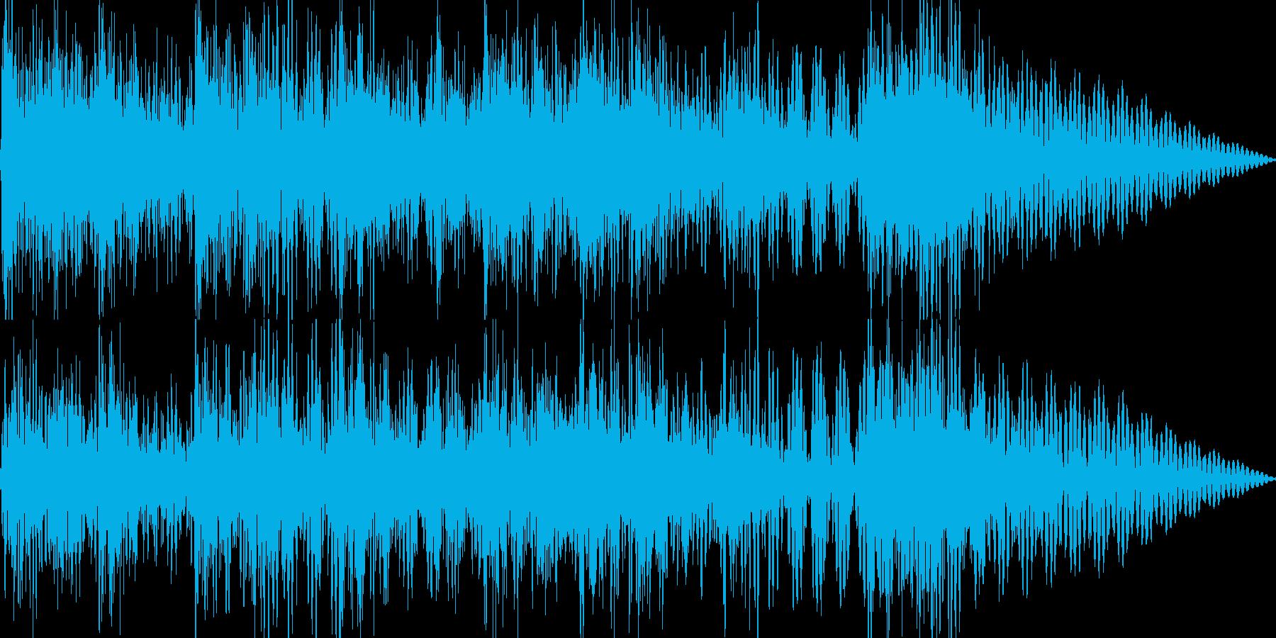 和楽器を使ったジングルの再生済みの波形