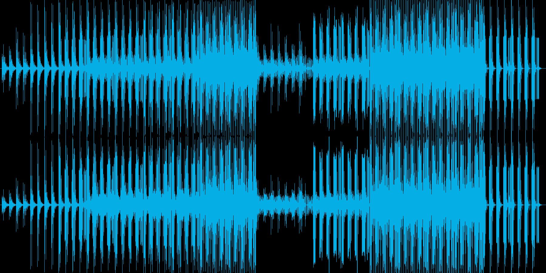 叙情的なアンビエント系EDMの再生済みの波形