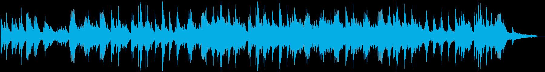 切ないピアノの感動バラードの再生済みの波形