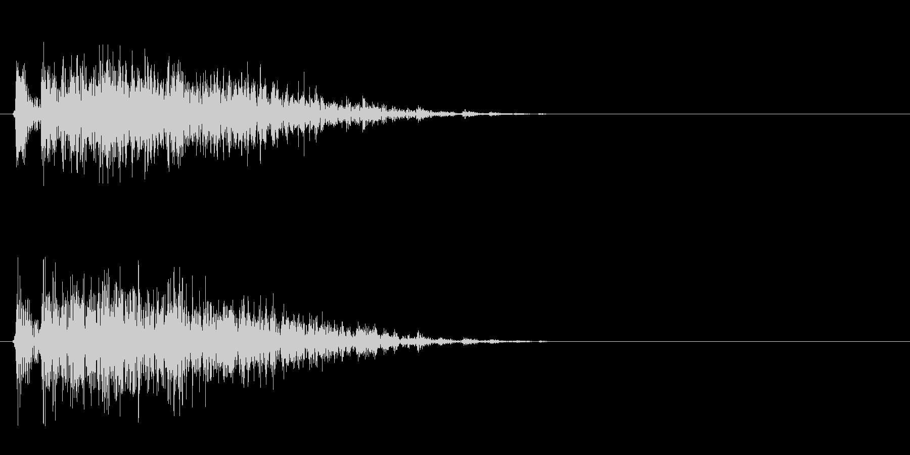 ギィィッ(床がきしむ音、ホラーゲーム)の未再生の波形