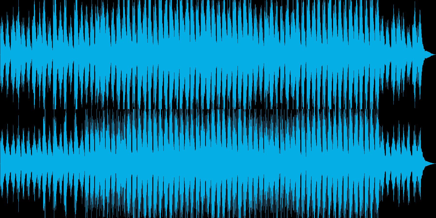 ほのぼの・爽やか・映像・イベント用の再生済みの波形