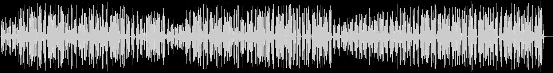 ほのぼのしたストーリーのミュージックの未再生の波形