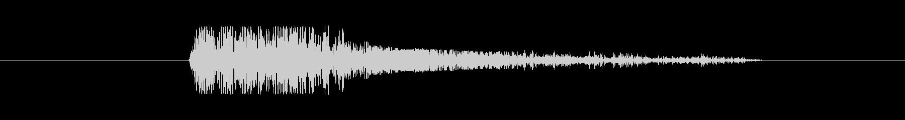 FX・SE/ガン/銃/重い/バン/大口径の未再生の波形