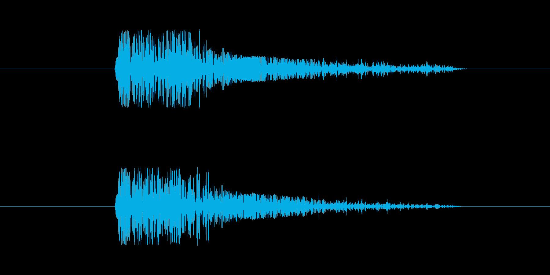 FX・SE/ガン/銃/重い/バン/大口径の再生済みの波形