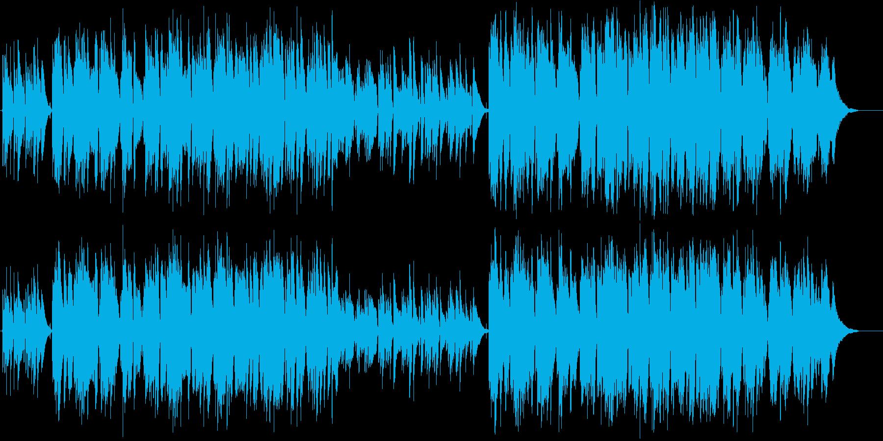 心温まる切ないふるさと&村のケルト音楽の再生済みの波形
