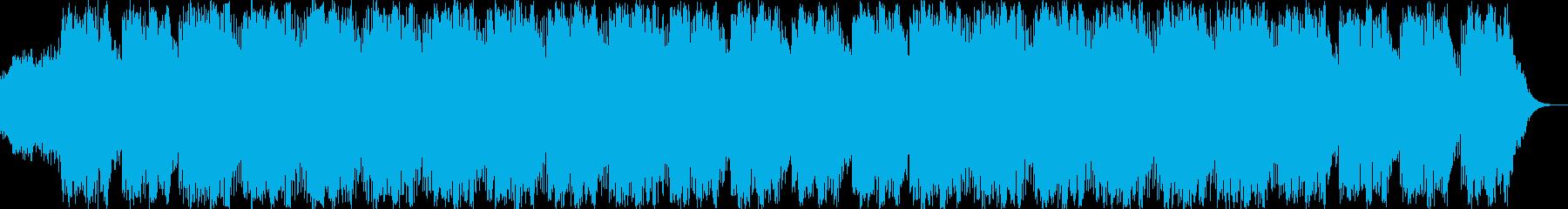クールな感じのアンビエントの再生済みの波形