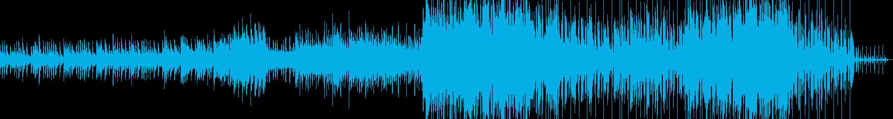 疾走感溢れるピアノテクノの再生済みの波形