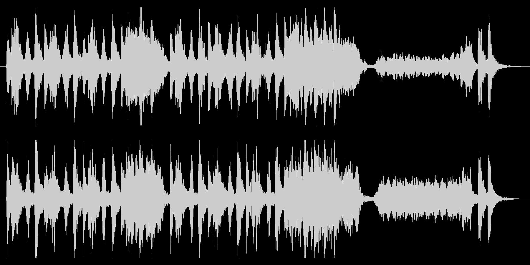 【オーケストラ】コミカル、わくわく、軽快の未再生の波形