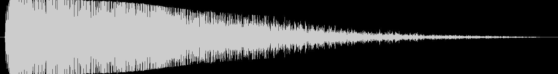 【爆音2(3秒に短縮)】大砲やダメージ音の未再生の波形
