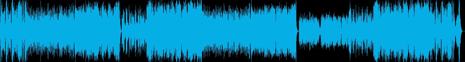 可愛らしいファンタジーオーケストラの再生済みの波形