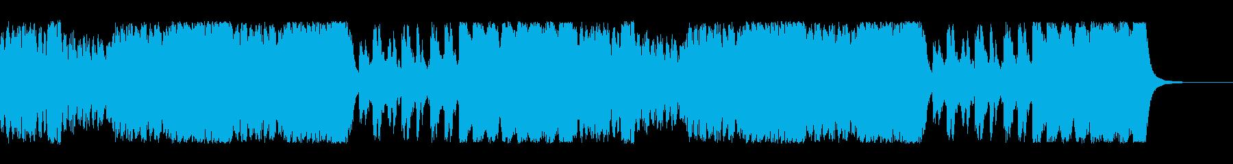 戦闘のBGM。魔法での戦闘をイメージ。の再生済みの波形
