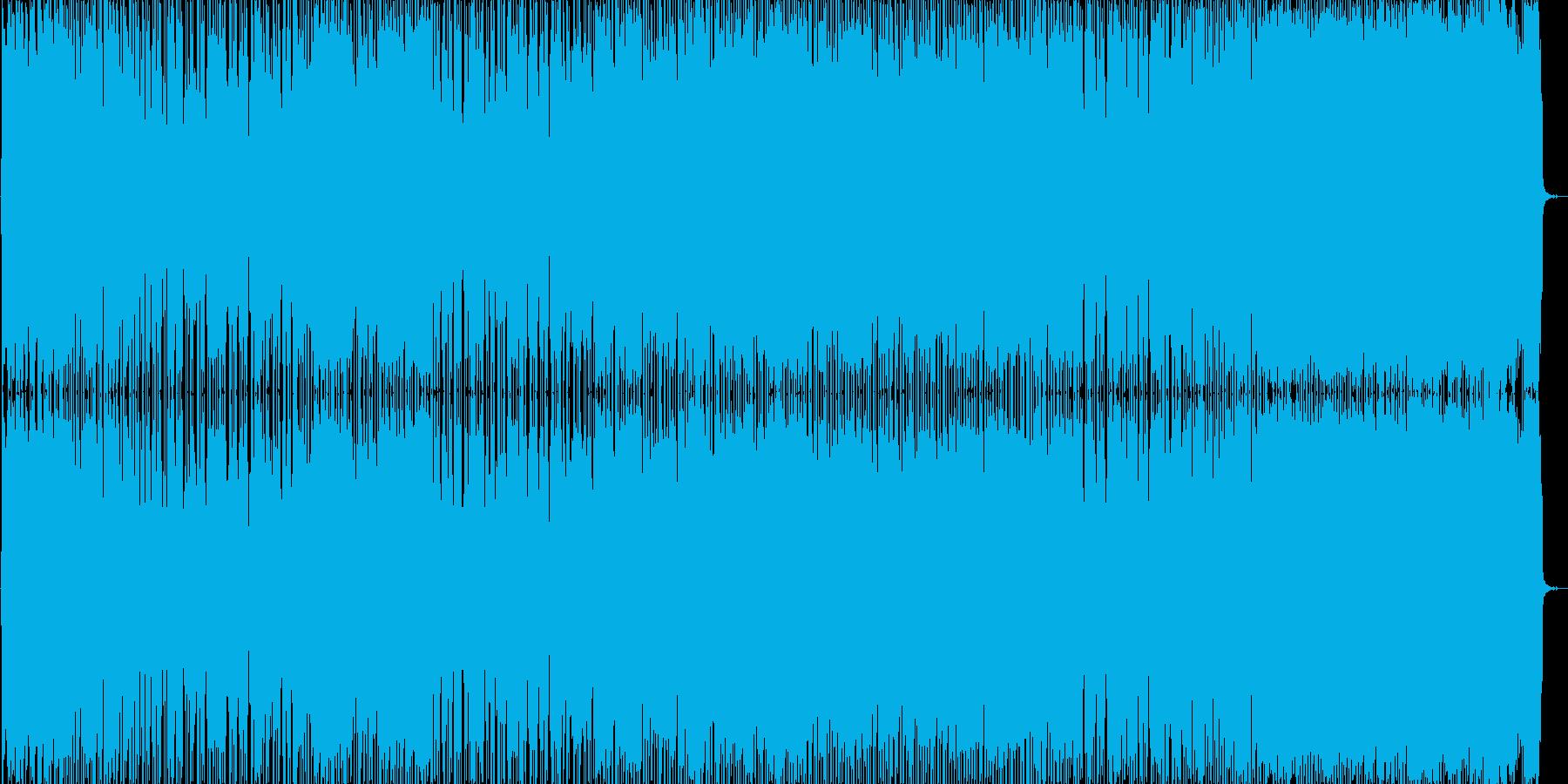 ミドルテンポの曲で主人公登場シーンや格…の再生済みの波形