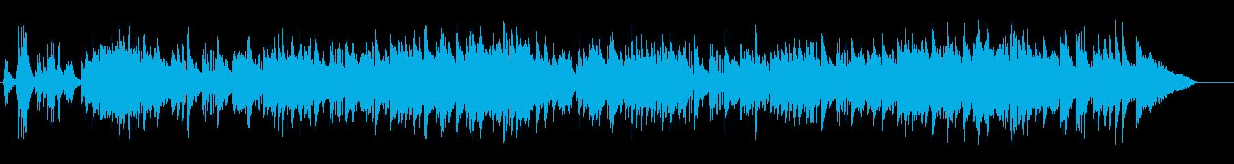 アーバン・ナイト風のジャズ・サウンドの再生済みの波形