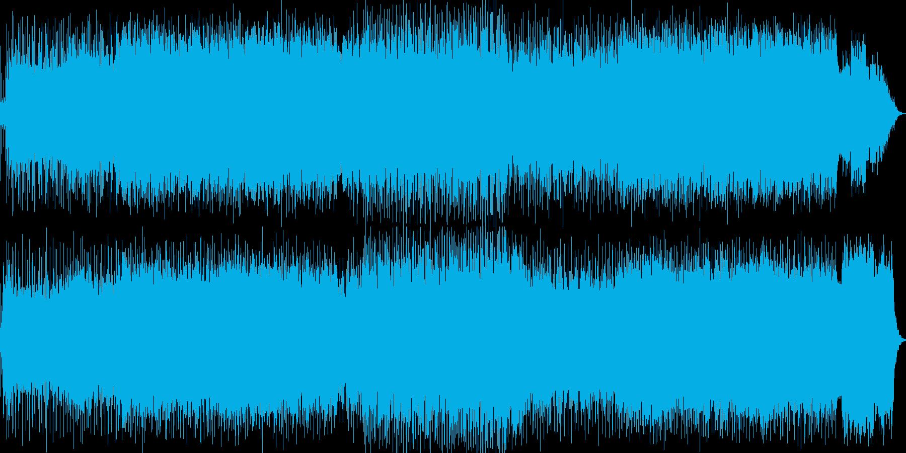 ダークな雰囲気、シンセサイザーテクノの再生済みの波形