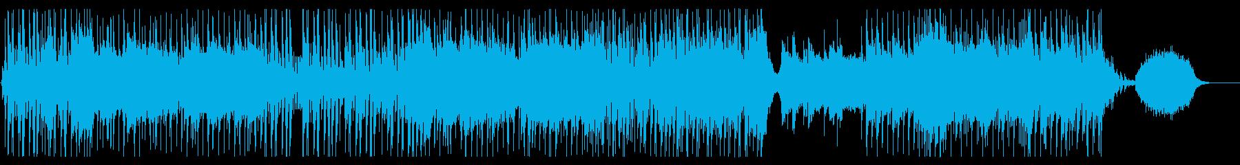 爽やかなギターポップ-Aの再生済みの波形